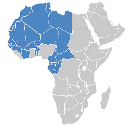 BlueTech - Coverage: Africa